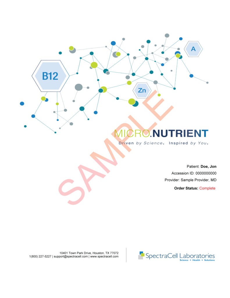 Micro Nutrients-Nutrition Test